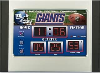 Best new york giants scoreboard alarm clock Reviews