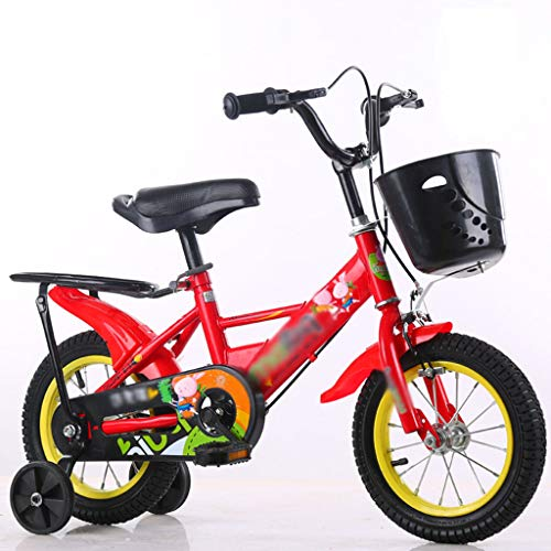 Review 12 14 16 18 Children's Bicycles, Girls and Boys with Training Wheels for Ages 3 to 11 Yea...