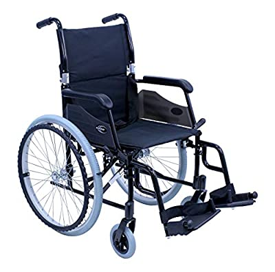 Karman 24 pounds LT-980 Ultra Lightweight Wheelchair Black from Karman Healthcare