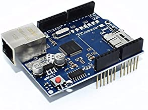 Arduino Ethernet Shield, for Uno R3 and Mega with Micro SD Card Slot Support, Network Expansion Board