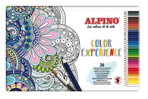Lapices Colores Alpino 72 Marca Alpino
