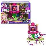 Polly Pocket Paseo de la Princesa Hada, set de juego con muñeca, mascota y accesorios, juguete para niñas y niños mayores de 4 años (Mattel GYK43)
