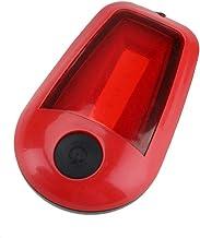 LIZHOUMIL Mini COB LED nachtlampje clip lamp outdoor thuis draagbare batterij zaklamp geschikt voor camping rood