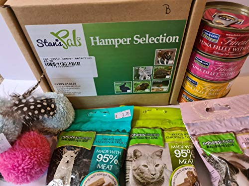 Stan's Pals Cat tasty treat and toy hamper selection
