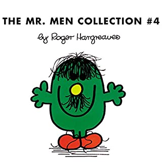 The Mr. Men Collection 4     Mr. Clumsy; Mr. Tickle and the Dragon; Mr. Topsy-Turvy; Mr. Skinny; Mr. Slow; Mr. Silly; Mr. Nervous and the Pirates; Mr. Quiet; Mr. Cool; Mr. Rude              By:                                                                                                                                 Roger Hargreaves,                                                                                        Adam Hargreaves                               Narrated by:                                                                                                                                 Jim Dale                      Length: 57 mins     18 ratings     Overall 4.8