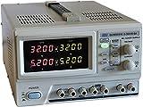 Komerci QJ3005PIII Regelbares Doppel-Labornetzteil 2x0-30V, 0-5A, OCP, programmierbar & steuerbar mit PC, Labornetzgerät