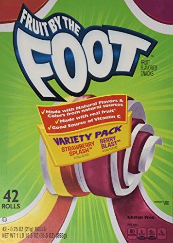 Betty Crocker Fruit Snacks Variety Pack, STRAWBERRY SPLASH/BERRY BLAST 48 Count