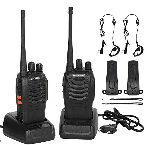 CACAGOO Walkie Talkie Recargable 16 Canales
