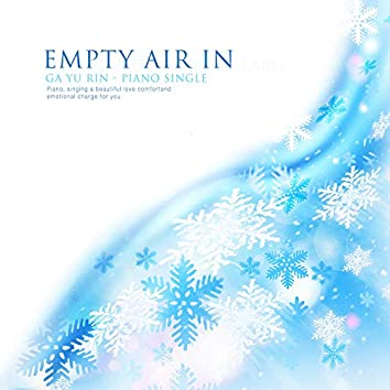 In empty air