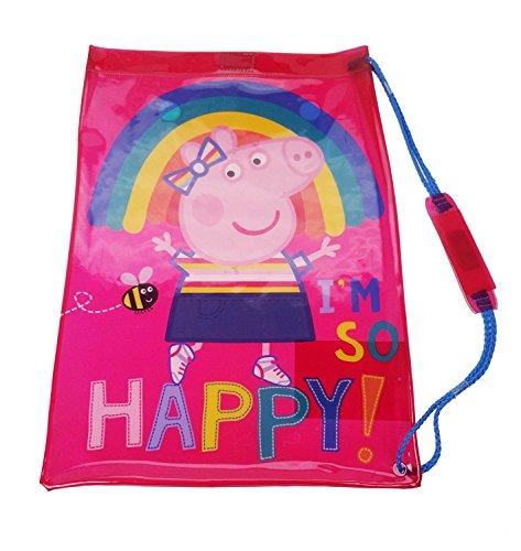 Peppa Pig PVC Swimbag Cabas de fitness, 42 cm, Rose (Pink)