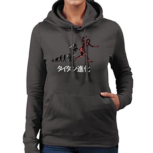 Cloud City 7 Titan Evolution Attack on Titan Eren Women's Hooded Sweatshirt