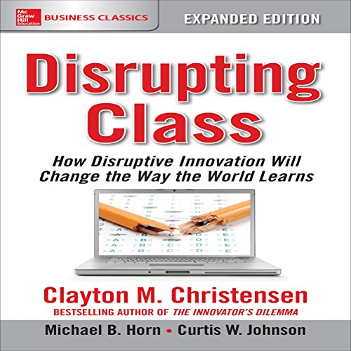 Disrupting Class, Expanded Edition audiobook cover art