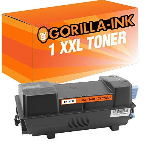 Gorilla-Ink 1 Toner XXL para Kyocera TK-3190 Negro ECOSYS M 3655 IDN M 3660 IDN P 3055 DN P 3060 DN M3655IDN M3660IDN P3055DN P3060DN