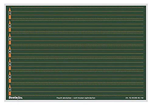 Brunnen 104020040 Scolaflex Tafel A0 (26,5 x 18 cm)