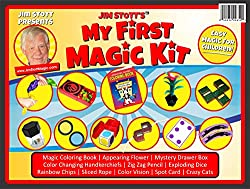 small Jim Stott's first set of magic tricks for kids, a series of magic tricks for girls and boys, emerging flowers, …