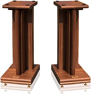 Stands Speaker Stand Speaker Tripod Home Hall Shock Absorption Full Solid Wood Shelf Audio Bookshelf Speaker Floor Desktop...