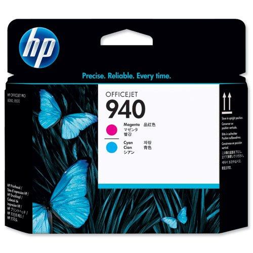 Original Tinte HP Nr 940 C4901A - Premium - Cyan, Magenta