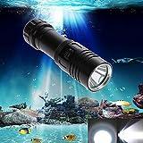 Generic 5000LM LED XM-L2 Diving Underwater Torch Flashlight 100 m Diving Lamb Light
