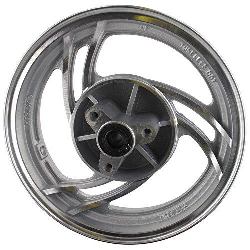 Xfight-Parts Jante Roue aluminium 6 rayons 2.15 x J10 avec roulement 4Takt 50 ccm jsd50qt de 13