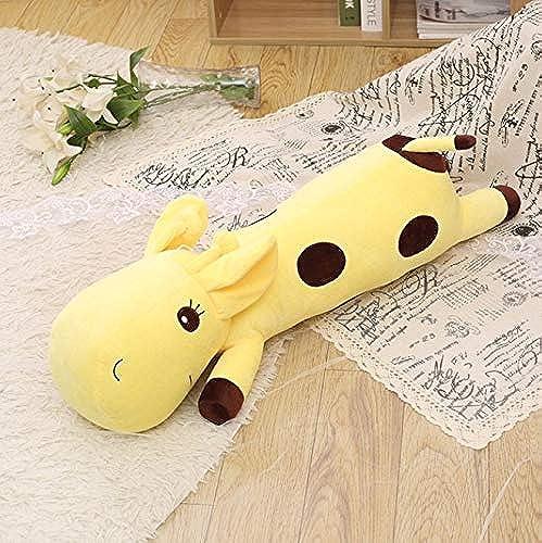 para mayoristas Loudi Lindo Peluche Jirafa Juguetes Blandos Animal Dear Dear Dear Doll Bebé Niños Niños Regalo De Cumpleaños Kawaii Stuffed Animals Toy amarillo  marcas de moda