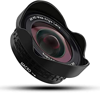 L.J.JZDY telefonlins mobiltelefon vidvinkel macro två-i-ett-lins 17 mm professionell optisk fast fokus icke-förvrängning s...