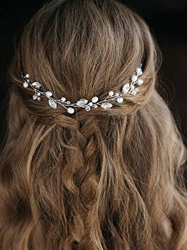 Artio Wedding Hair Vine Accessory Bridal Headpiece for Bride and Bridesmaids HV 512 product image