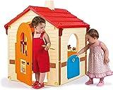 INJUSA - Spielhaus Garden Cottage mit 2 Zugangstüren Empfohlen für Kinder +3 Jahre