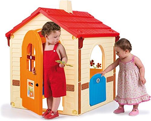 INJUSA - Maison de Jardin en Plastique avec 2 Portes d'Accès Recommandée pour les Enfants de plus de 3 Ans
