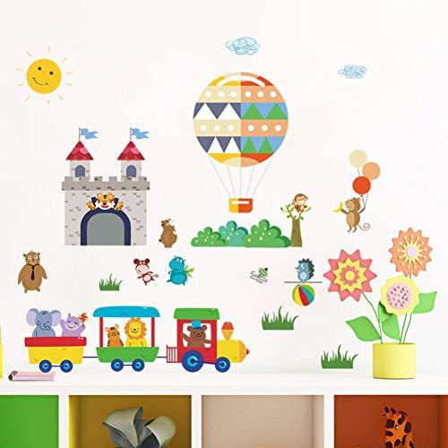 Toyvian 1 Rollo de Pegatinas de Huellas de Animales Pegatinas de ni/ños Pegatina de Bricolaje para Decorativos y Sobres