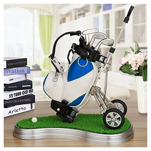 Carros de Golf Golf Regalo Soporte para bolígrafos de golf Alta calidad de golf Carts Soporte para bolígrafos de golf, una variedad de colores para su referencia Piel sintética de mini bolsas de golf