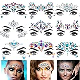 Masquerade Face Sticker Drilling Set Beauty Makeup DIY Tattoo Stick Drill
