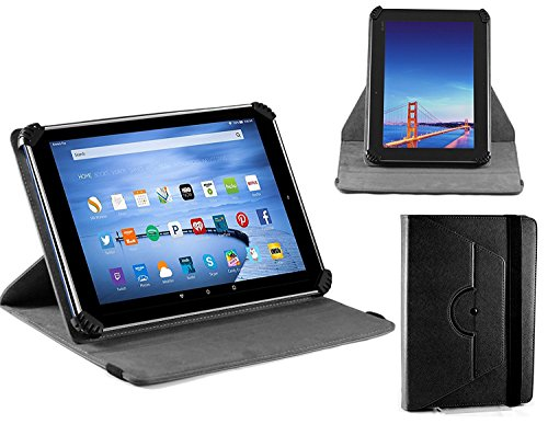 Navitech housse étui folio noir avec stylet compatible avecHUAWEI MediaPad M2 10.0 Tablet