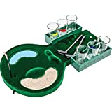 B&F SPDGOLF Golf Shot Glass Drinking Game Set [Eyewear], Green