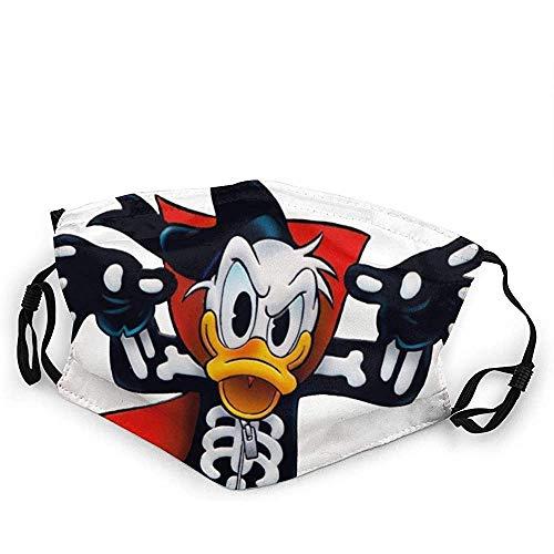 Donald Duck Halloween mondbescherming anti-stof wasbaar herbruikbare mondbescherming modedesign voor jongens meisjes tieners