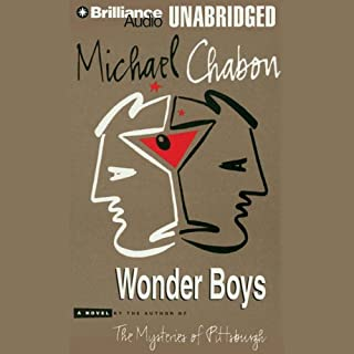 Wonder Boys audiobook cover art