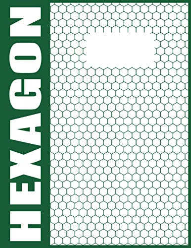 Organische Chemie Hexagon Notizblock A4 - 120 Nummerierte Seiten Mit Grauen Linien