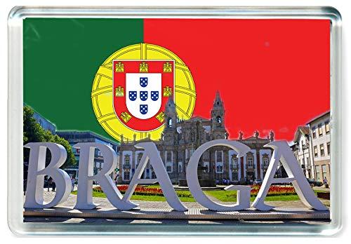 I355 Braga Municipality Jumbo Imán para Nevera Portugal Travel Fridge Magnet