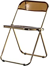 Folding Plastic Chair,Home Creative Transparent Foldable Chair, Bar Metal Dining Chair And Hospitality Chair, Guest Chair ...