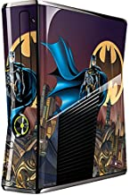 Skinit Decal Gaming Skin for Xbox 360 Slim (2010) - Officially Licensed Warner Bros Batman in The Sky Design