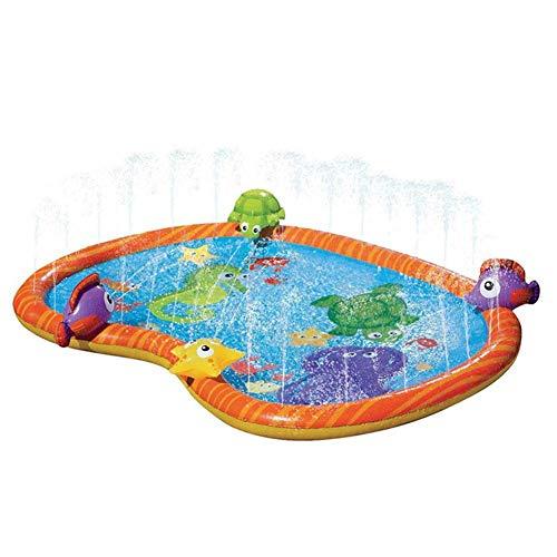 Great Price! Nanle Sprinkler Pad for Kids, Sprinkle and Splash Water Play Mat,Inflatable Kids Sprink...