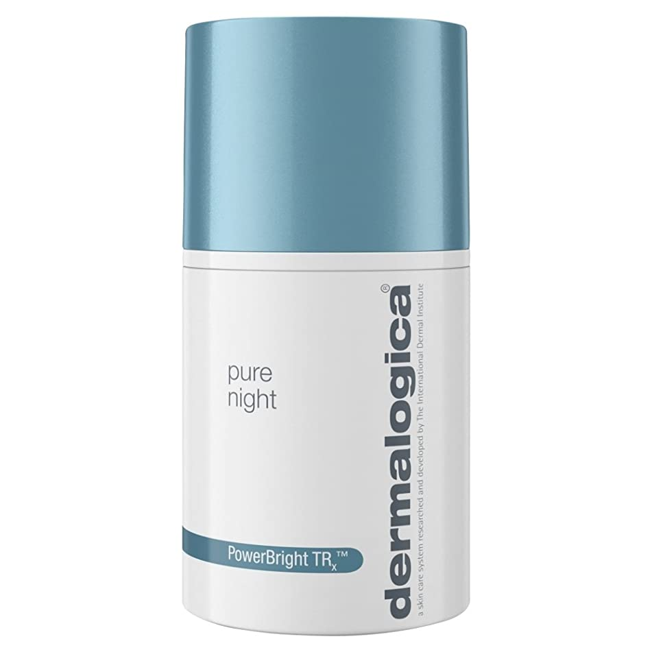 桃セグメントジャニスダーマロジカPowerbright Trx?純粋な夜の保湿剤、50??ミリリットル (Dermalogica) (x2) - Dermalogica PowerBright TRx? Pure Night Moisturiser, 50ml (Pack of 2) [並行輸入品]