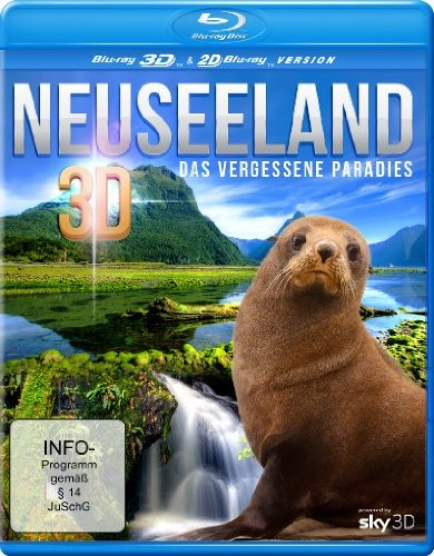 Neuseeland 3D - Das vergessene Paradies (inkl. 2D Version) [Real 3D Blu-ray]