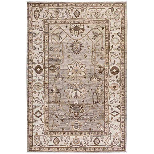 Solo Rugs Oushak Teppich, handgeknüpft, 150 x 240 cm, Nebel