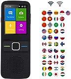 XIAOWANG WiFi traductor Inteligente portátil traductor simultáneo intérprete de lenguaje con 45 Idio...