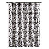 ZhHaoXin Home Duschvorhang Anti-Schimmel, Anti-Bakteriell Wasserabweisender Shower Curtains Polyester gewebe Bath Curtains Vorhang aus Schöne Muster für Badezimmer, 200 * 220