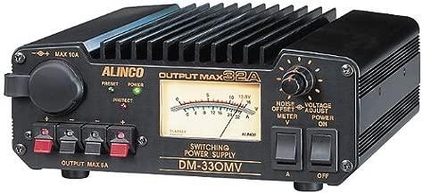 Alinco DM-330MVT 30amps Continuous 32amps Max Switching Power Supply 13.8 VDC, 110V, Adjustable Volt: 5~15V