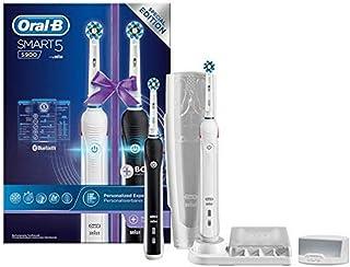 Oral-B Smart 5 5900 CrossAction Oplaadbare Elektrische Tandenborstel Powered By Braun, 2 Handvatten: 1 Zwart En 1 Wit, 5 P...