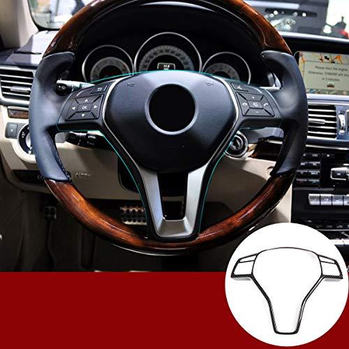 Auto Lenkrad Rahmen Verkleidung Für Benz A B C E CLA CLS GLA GLK Klasse W176 W246 W204 W207 W212 W117 W218 X156 X204 (Kohlefaser)