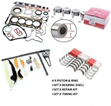 EA888 Engine Rebuild Overhaul Kit Piston Pin 21mm Fit for VW GTI Tiguan AUDI 2.0TFSI CAEB with 3 Month Warranty