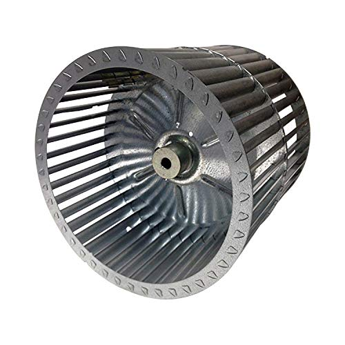 Packard RBW11200 Revcor Double Inlet Blower Wheel, 11 15/16 in. Dia, 1/2 Bore, CW, Tab Lock